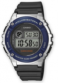 Мъжки часовник Casio 7 years Battery Life W-216H-2AVEF